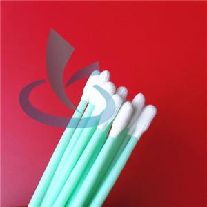 500pcs pennello a punta stellata Tampone di punta tagliente Tampone di schiuma antistatica, punta a punta per la pulizia di piccoli serbatoi di vapore elettronici