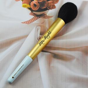 Spazzole per trucco di marca MR. PENNELLO PER POLVERE PERFETTA GIUSTA blending blush foundation bronzer makeup brushes DHL