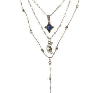 Mulheres charme declaração colar de moda choker pena pingentes colares boho multicamadas moeda borlas colares colares de cadeia