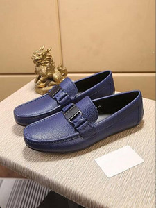 Hohe Qualität Herren Designer Schuhe Oxford Leder Slip-on Mokassin Zapatos Horsebit Schnallen Kleid Schuhe Hombre Driving Schuhe 38-44