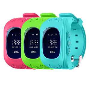 Anti-Lost Дети Дети Смарт-Часы Q50 Точный Локатор Трекер Аварийного LBS Позиционирования Baby Kid Smart Watch подарок Для Android