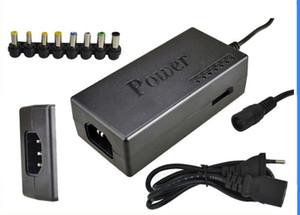 Universal 96 W Notebook Laptop 15 V-24 V AC Carregador Adaptador De Alimentação Com 8 Conectores 10 PÇS / LOTE