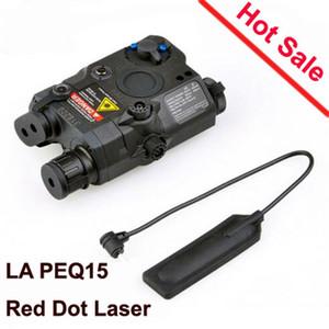 Caça LA PEQ 15 Tactical Lanterna Led Laser IR Infrared Battery Case com Laser Vermelho e IR Fits para Padrão EX276