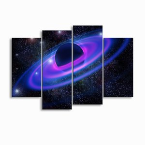 painting & calligraphy print Planet canvas poster wall art living room restaurant Bedroom Decorative paintings XQ4-006