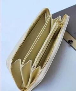 Marke Hot Männer und Frauen, die einen Geldbeutel einzigen Reißverschluss Banknoten Ordner Karte Brieftasche Clutch Bag keine Box 4 Farbe