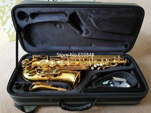 JUPITER JAS-767 Haute Qualité Alto Eb Tone Laiton Saxophone Or Laque E-plat Ton Sax Avec Embouchure Cas Gant Livraison Gratuite