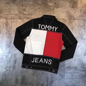 Newest Men &#039 ;S Denim Jackets Men &#039 ;S Hip Hop Jeans Jacket Women Jean Tops Long Sleeve Harajuku Autumn Sweatshirts Men Womens