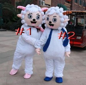 EVA Material Happy sheep Mascot Costume Cartoon ropa Masquerade fiesta de cumpleaños WS808