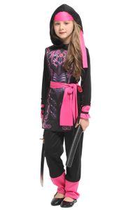 Shanghai Story Girls Naruto anime Cosplay Bambini Bambini Halloween Warrior Ninja Costume Carnevale Purim Masquerade Abiti da festa