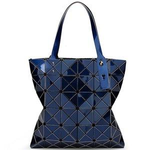 Bag Folded Handbag BaoBao Plaid Tote Fashion Casual Bag Geometric Women BAO Handbag BAO Female Shoulder1 Lwaqb