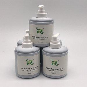 Hot Sale!!!300ml soft laser black doll carbon cream gel powder q switched nd yag laser natural toner
