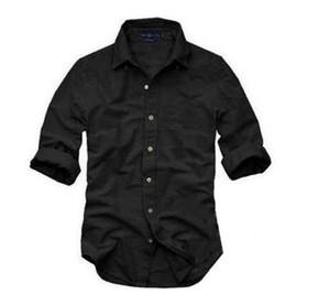 Новые мужские случайные твердые тонкий рубашка мужчины весна осень рубашки с длинным рукавом мода личности Бесплатная доставка