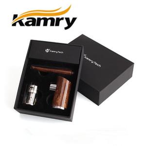 원래 Epipe Kamry K1000 플러스 나무 E 파이프 3.5 ml 1100mAh K1000 플러스 기화기 K1000 epipe ecig LED 조명 반지