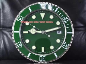 12 Estilo Topselling Início Relógio Wall Clocks 34CM x 5cm 1,5 kg 316L Quartz luminescentes Brand Watch 116610 116710 1166719 116619 Relógios Relógios