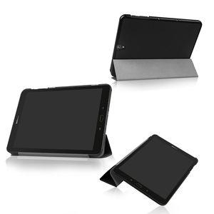 Samsung Galaxy Tab için kapak Durumda S3 S 3 TM-T820 T825 T829 9.7 Ince Manyetik çevirme 3 Katlanır pu deri Tablet kapak