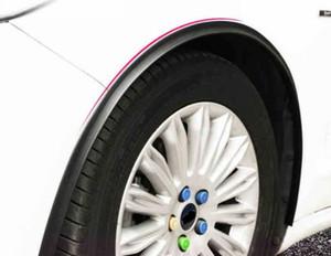 1.5M Black Car Wheel Fender Trim Protector Automotive Bumper Strip Sticker Styling Accessories Exterior Parts