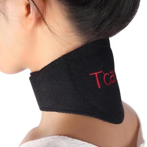 Vendita calda tormalina terapia magnetica collo massaggiatore protezione vertebra cervicale riscaldamento spontaneo cintura massaggiatore spedizione gratuita
