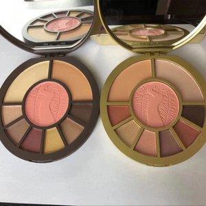 새로운 고성능 내추럴 9 가지 색상 Cosmetics Limited Edition 블러셔 팔레트 메이크업 블러셔 키트