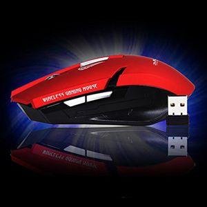 2018 quente Original iMice E-1700 Sem Fio Gaming Mouse Óptico USB Computador Mouse Com Receptor 2.4G 6 Botões Ratos Pacote de Varejo