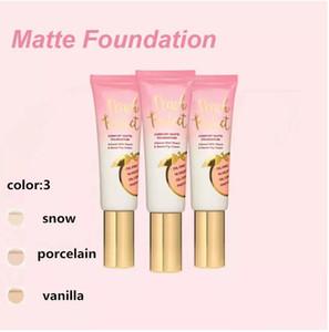 DHL Free Hot Makeup Foundation Peach Perfect Comfort Matte Foundation 3 ألوان 48 ملليلتر كريم الوجه مؤسسة جودة عالية