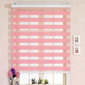 Persianas de cebra populares / persianas de doble capa / cortinas de impresión de cebra / decoración del hogar