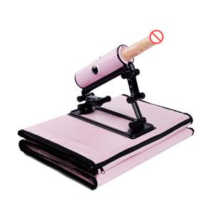Portable Handbag Sex Machine Gun with Dildo Vibrator Remote Automatic Retractable Love Machine Female Masturbation Sex Toys for Women