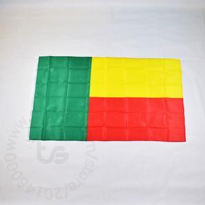 Benin bandera nacional gratuito 3x5 envío FT / 90 * 150cm Colgando de la bandera nacional de Benin decoración del hogar bandera de la bandera