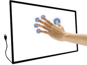 Cornice touchscreen a infrarossi IR da 10 pollici da 32 pollici, imballaggio tubo. No vetro. Cornice touch a infrarossi. Overlay touch.