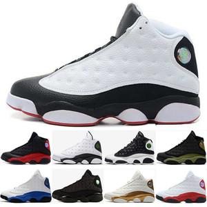 13 13s zapatos de baloncesto gato negro Hyper Royal Olive Wheat GS Bordeaux DMP Chicago hombres zapatos de baloncesto 13s zapatos deportivos zapatillas de deporte tamaño 36-47