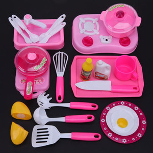 Mini Kids Kitchen Tool Intelligence Toy Role Play Kids Girls Pretend Play Kitchen Children's Classic toys New Year Gift