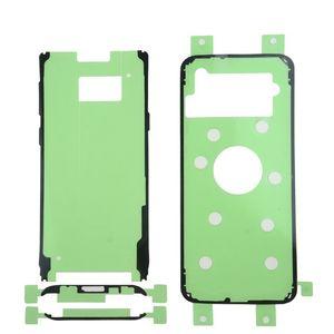 1 تعيين اللواء خلف غطاء زجاجي زجاج الباب LCD جبهة لاصق ملصق لسامسونج غالاكسي S6 S7 حافة S8 S9 زائد ملاحظة 8 مجموعات الشريط