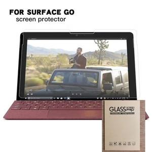 Protetor de Tela de Vidro temperado Para Microsoft Surface GO 10.1 '' 10 polegada TAB Tablet Película Protetora 100 pcs NO pacote de varejo