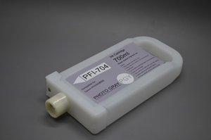 Envío gratis en EE. UU .: 12pcs / set, juego de tanque de tinta PFI-704 de 12 (700 ml), cartucho de tinta vacío con chips para plotter iPF8300 iPF8310 de Canon