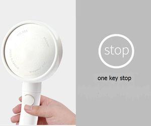 Pomme de douche automatique avec interrupteur
