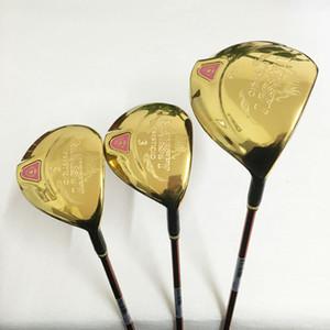 Nuevos clubes de golf para mujer Majesty Prestigio 9 driver 3/5 fairway madera grafito Golf eje cubierta Golf conjunto de madera envío gratis