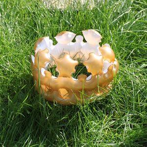 Giocattoli creativi di inflazione dei bambini PVC adulto Golden Imperial Crown Hat per la festa di compleanno Regalo Cosplay Interaction Toy Decorativo 3jx Y
