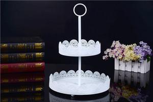 Yuvarlak Demir Kek Standı Düğün Tatlı Kek Ekran Standı Doğum Günü Partisi Düğün Pastası Tatlı Dekor için