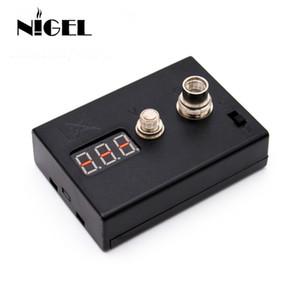 Nigel LED Resistenza Tester OHM meter ohm reader per riscaldamento Coil Wire DIY Vape Tool E Sigaretta 510 RDA vaporizzatore atomizzatore