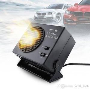 Livraison gratuite antibuée véhicules Chauffage Dégivreur céramique Portable de refroidissement Sèche-300W DC 12v Commutateur de chauffage en céramique ventilateur voiture chauffage chaud