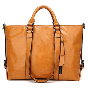 Oil wax handbag wholesale fashion shoulder bag lady Vintage Motorcycle bag special offer promotions