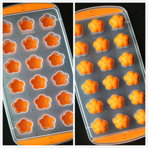 3D Star Fruit Shape Ice Cube Tray Mould Chocolate Silicone Tray Ice Molds Freeze Kitchen Accessories
