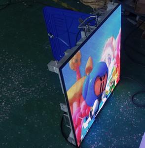 El peso ligero delgada cubierta P4 Publicidad Alquiler a todo color de pantalla LED LED Panel de pared de video 128 x 128 píxeles de la pantalla de TV