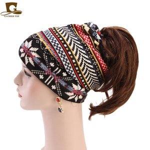 Autumn and Winter Cashmere Double Twisted Cap Cap with Hole Pile Cap