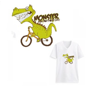 Mignonne Courir Monster Patches Autocollant pour Enfants Vêtements Lavable À La Main Transfert De Patch DIY Décoration DIY Appliquée Pour Le Haut T-shirts