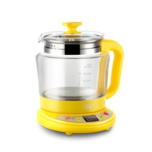 220V 2L 30-800w Electric kettle Health pot soup tea chinese medicine pot Thick borosilicate glass Multifunction 6 gears 180min timing