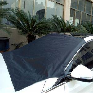 방수 자동차 커버 자동차 앞 유리 전면 창 일 - 음영 눈 그늘 커버 차양 직물 외관 액세서리 QP001을 태양 - 음영