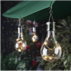 홈 태양 전구 방수 태양 회전 야외 정원 캠핑 매달려 LED 램프 조명 제어 장식 빛