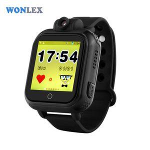 wholesale 720P 3G WCDMA Remote Camera GPS LBS WIFI Location Kids GPS Watch GW1000 1.54 Touch Screen Smart SOS Tracker