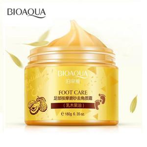BIOAQUA Shea Butter Cream For Chinese Foot Herbal Foot Scrub Cream Massage Exfoliating Feet Cream Dead Feet Skin Care Removal Smooth Exfolia