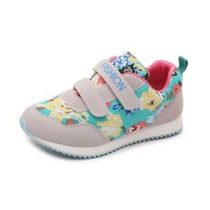 Kızlar Için tuval Prenses Ayakkabı Sneakers Çocuk Rahat Ayakkabılar Çiçek Pamuk Kumaş Koşu Spor Çocuklar Ayakkabı Moda 2018